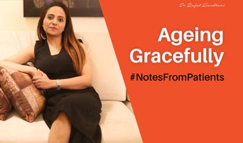 #NotesFromPatients- Ms. Rose   Dr. Rajat Kandhari - Consultant Dermatologist
