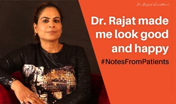 #NotesFromPatients   Dr. Rajat Kandhari - Consultant Dermatologist