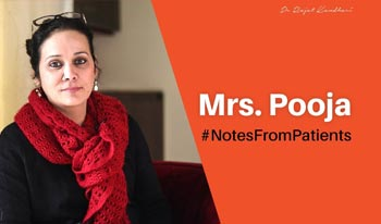 #NotesFromPatients- Mrs. Pooja | Dr. Rajat Kandhari - Consultant Dermatologist