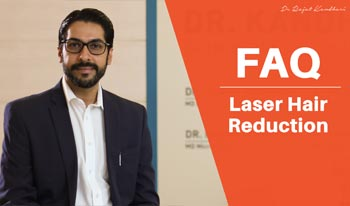 How does Laser Hair Reduction work for unwanted hair? | FAQ | Dr. Rajat Kandhari
